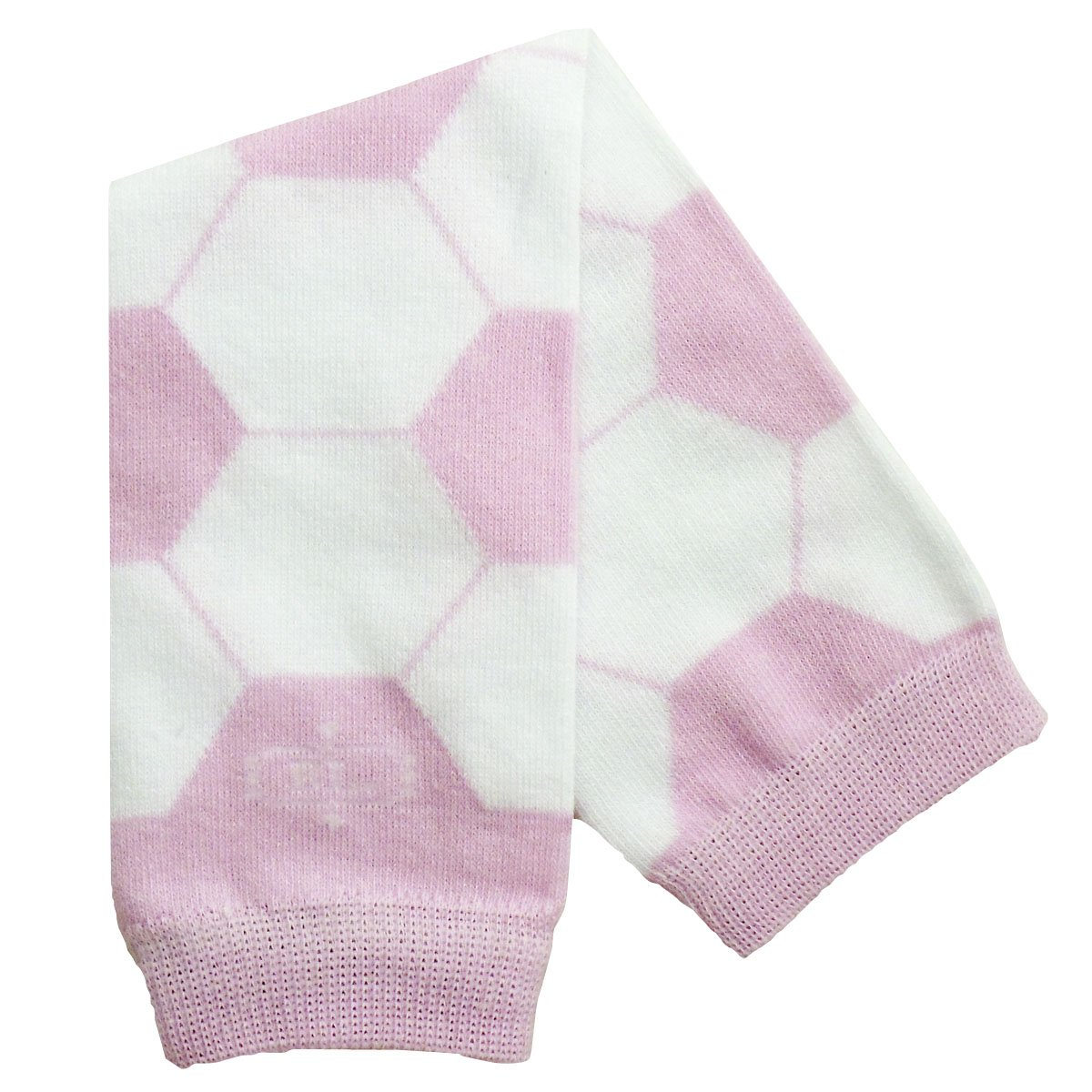 BabyLegs Baby-girls Infant Soccer Chick Legwarmer, Pink/White, One Size BL12-659