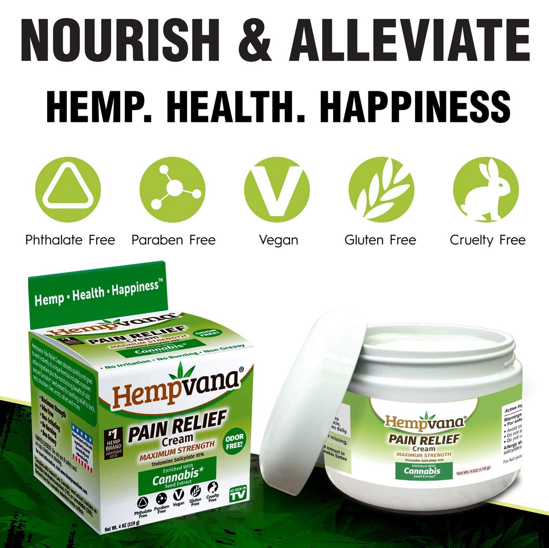 hempvana pain relief cream reviews