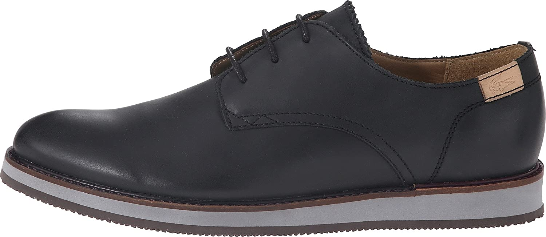 39ecd701c Lacoste Millard Mens Black Leather Casual Dress Lace Up Casual Dress Shoes 8   Amazon.ca  Shoes   Handbags