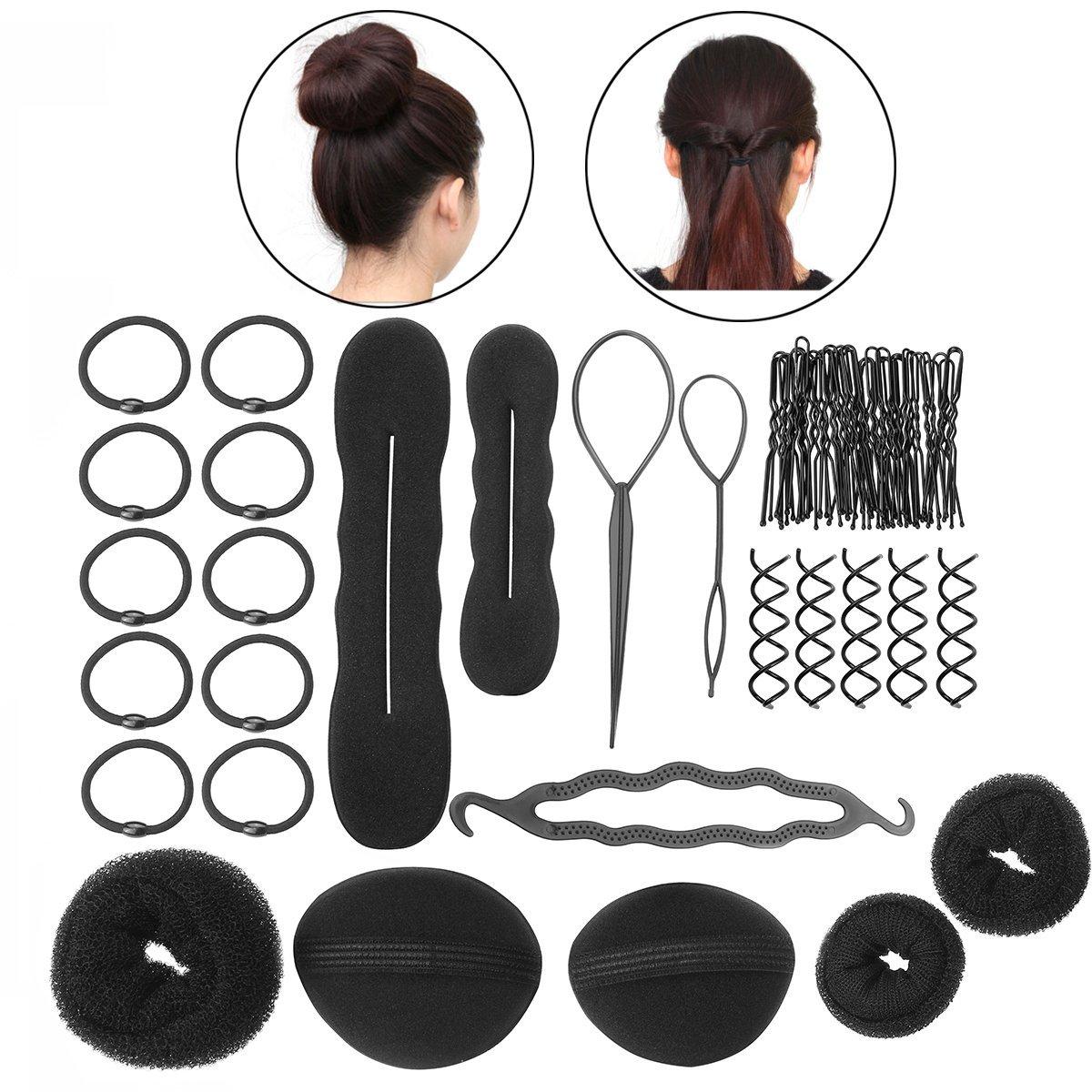 PIXNOR BRICOLAJE accesorios de peinado herramientas Kit Set para mujeres New