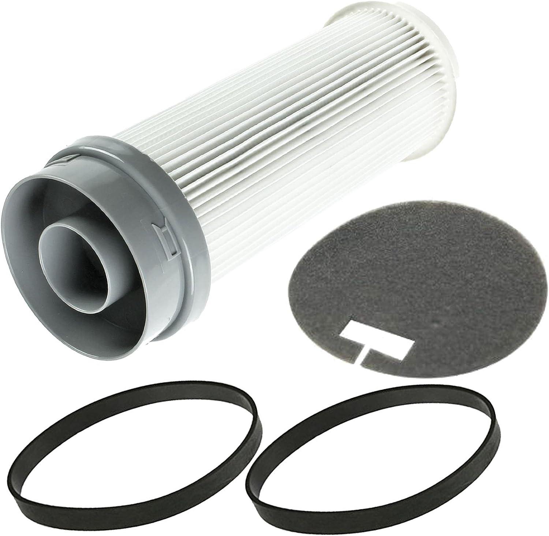 Vax Power 1 /& 2 U91 P1 P2 Vacuum Cleaner Hepa Filter /& 2 Pack of Hoover Belts