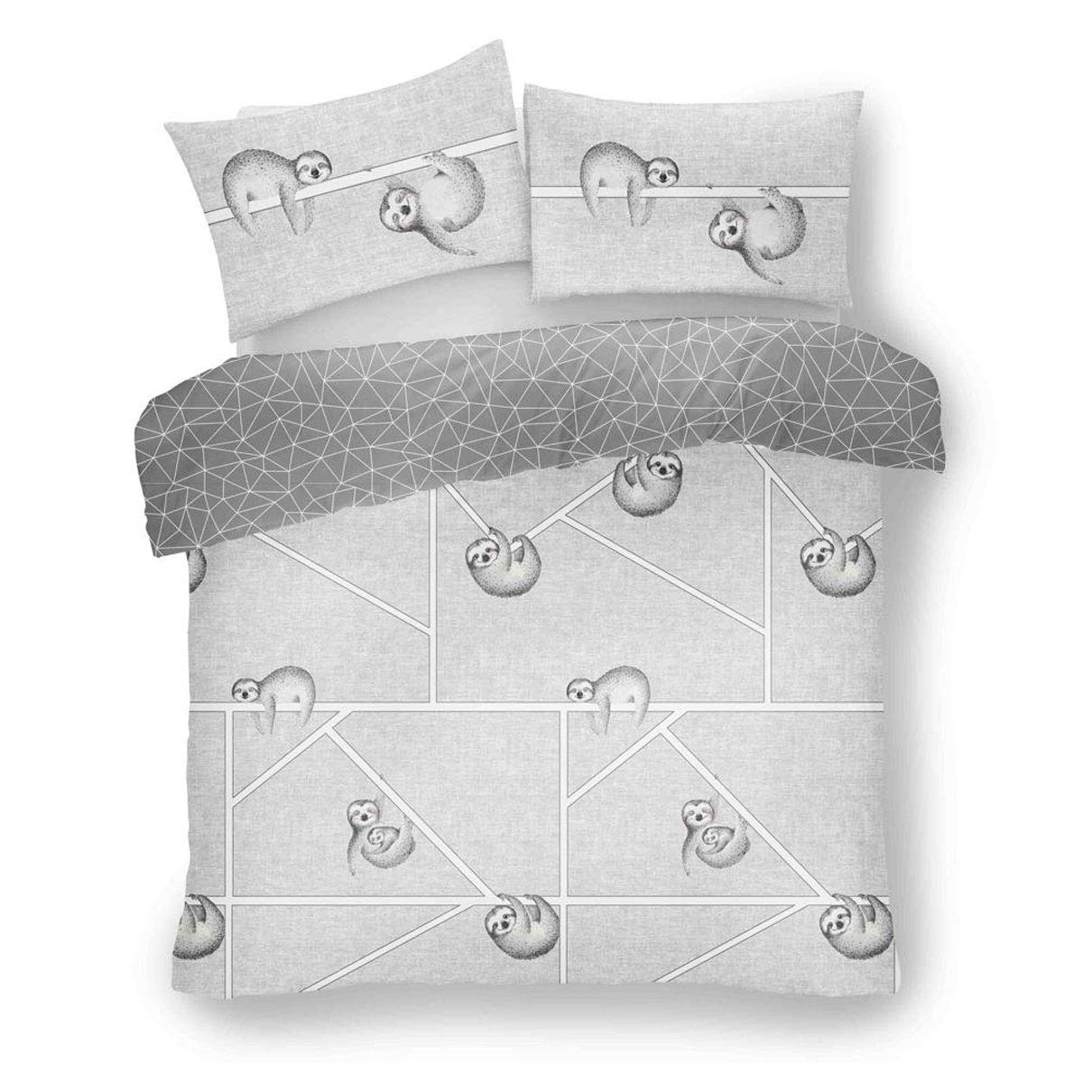 Rapport Simply Sloth King Duvet Set CHEAPEST ON