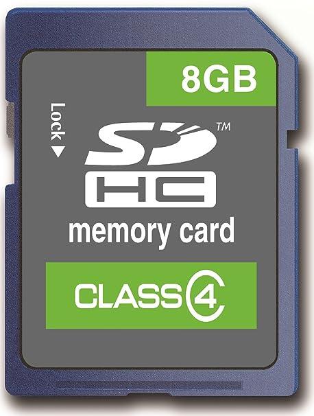 Memzi - Tarjeta de Memoria Flash SDHC Clase 4 para Tablet V ...