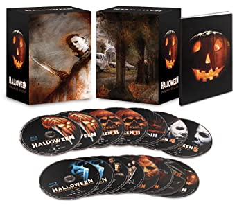 Halloween Blu Ray Box Set.Amazon Com Halloween The Complete Collection Limited Deluxe