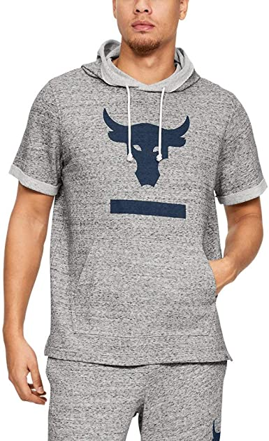 Chaqueta acoplador Margarita  Under Armour Men's Project Rock Terry Short Sleeve Hoodie at Amazon Men's  Clothing store