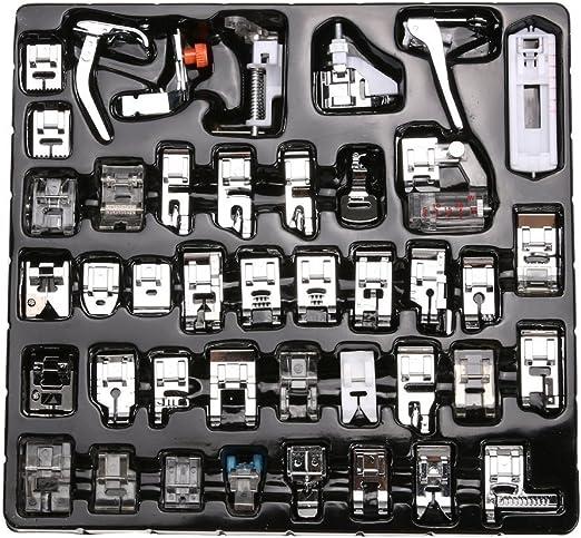 Set de prensatelas para máquina de coser, 42 unidades, para Janome ...