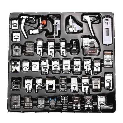Set de prensatelas para máquina de coser, 42 unidades, para Janome,