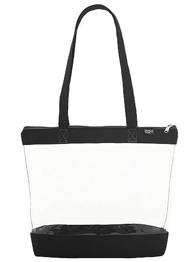 Amazon.com: Bolsa transparente para colgar en el hombro con ...