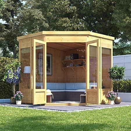 Casa para jardín, BillyOh Picton, con sistema de ensamblaje ...