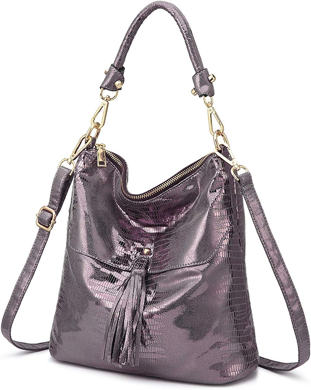 Women Shoulder Bag Handbags Animal Prints Crossbody Bags Artificial Leather Tassel