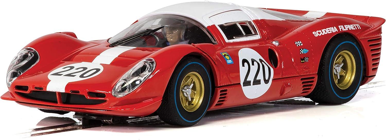 Scalextric 412P Targa Florio 1967 1:32 Slot Race Car C4163