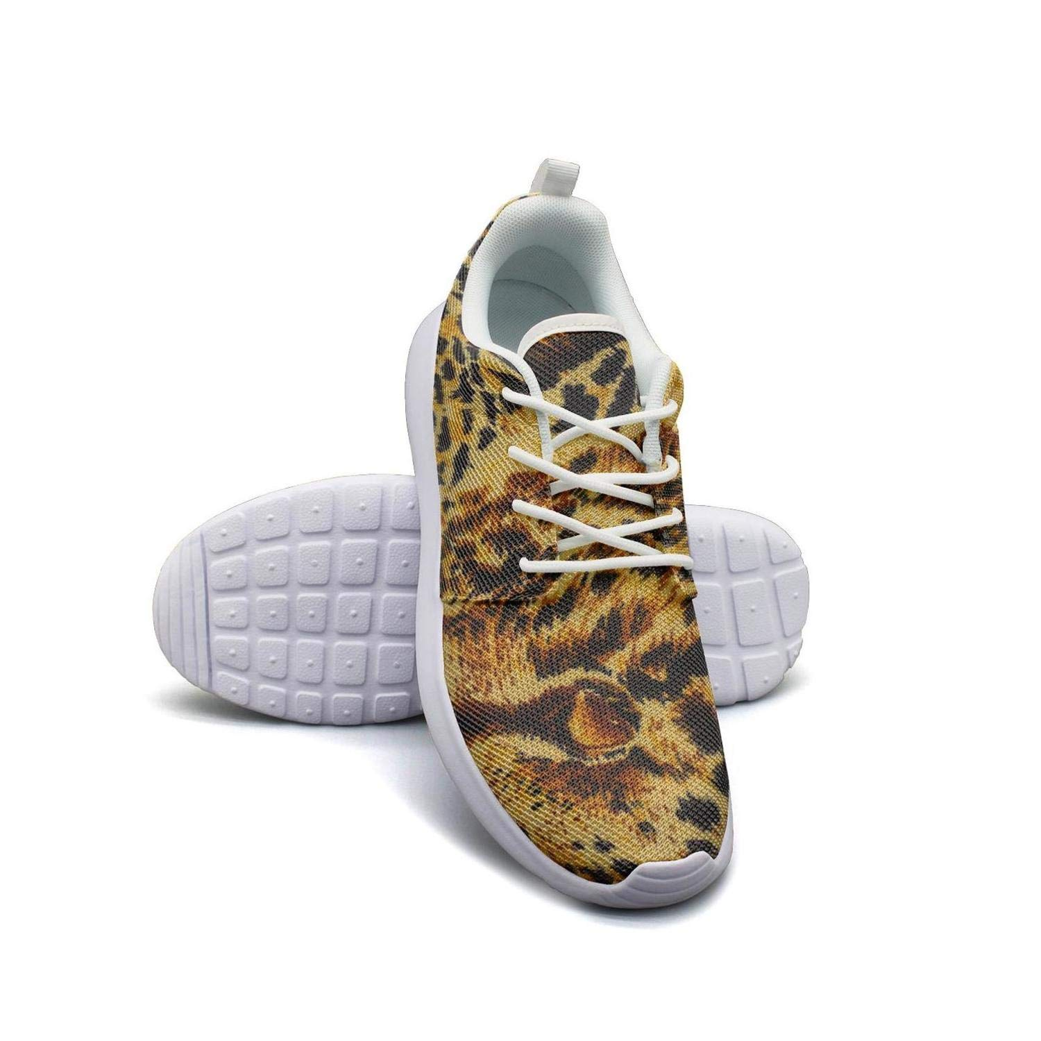 Trainer Comfortable Shoe for Girl Ditto Animal Print Leopard Texture Camouflage women/â/€s Sports Snakers
