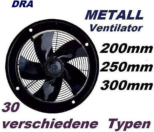 Uzman-Versand 250mm Ventilador Industrial Ventilación 1800m³/h ...