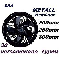 200mm Ventilador Industrial Ventilación 1000m³/h Extractor Ventiladores ventiladore