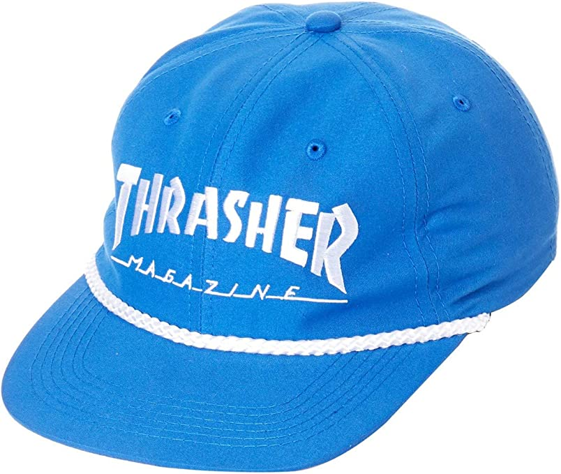 GORRA THRASHER ROPE SNAPBACK AZUL & BLANCA - Taille unique, azul ...