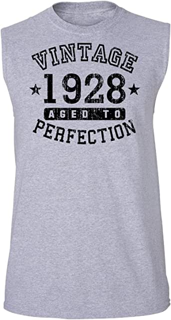 TooLoud 1928 - Vintage Birth Year Muscle Shirt Brand at