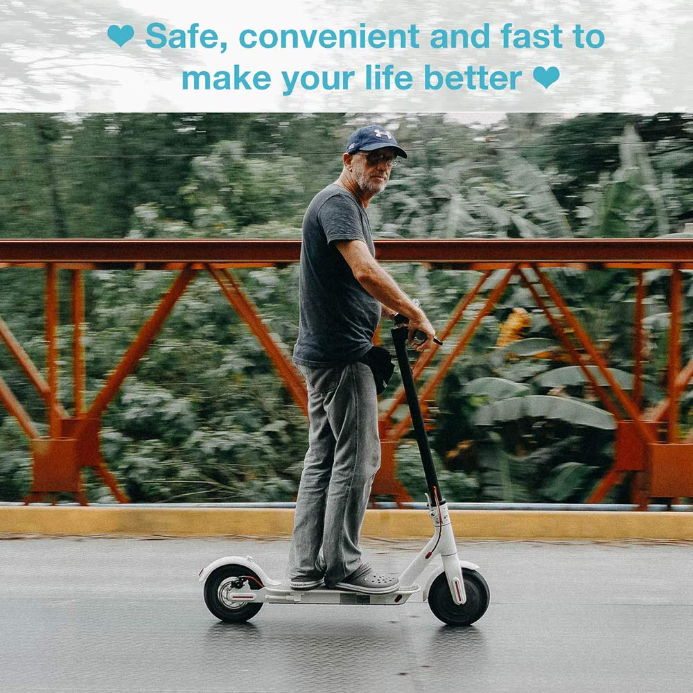 2x2 Tubi Interni per Xiaomi M365 Pneumatici per Tubi Interni a Doppio Spessore 8 1 TiooDre Pneumatico per Scooter Elettrico Pneumatici di Ricambio gonfiato per Scooter Elettrico 8,5 Pollici