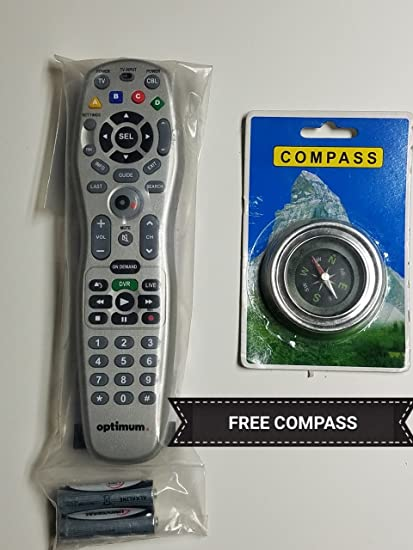Cablevision Optimum Model Ucr2464 B00 Universal Remote Control