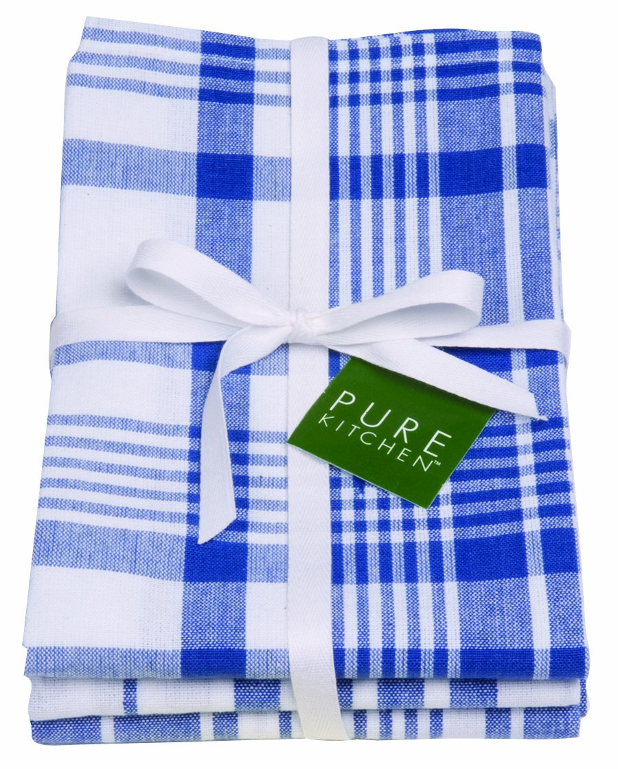 Amazon.com: Now Designs Jumbo Pure Kitchen Towel Set Of 3, Royal Blue: Home  U0026 Kitchen