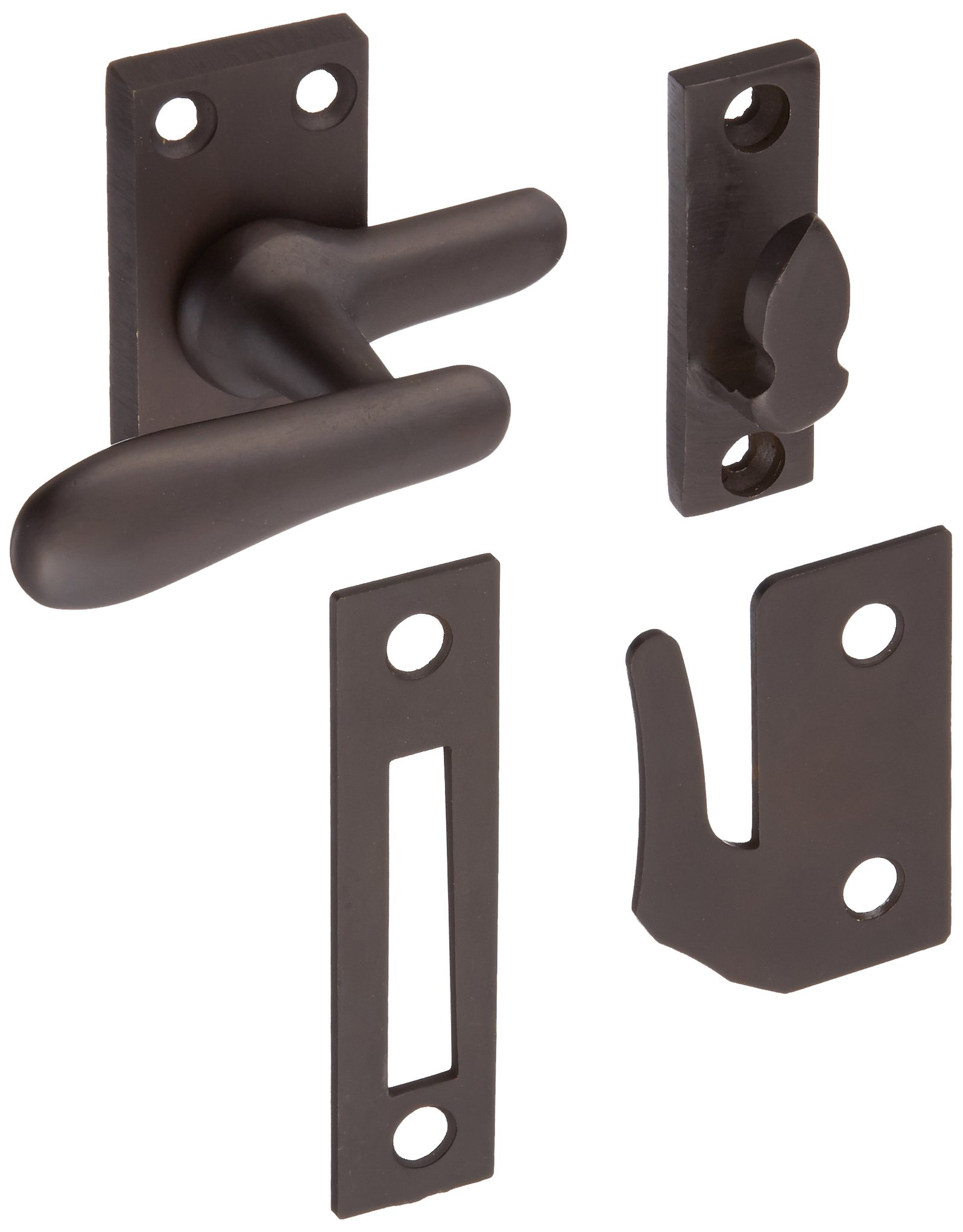 Deltana CF66U10B Casement Fastener Window Lock, Medium