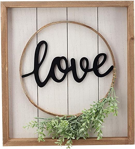 Rustic Wood Home Decor Farmhouse Gather Sign All Rooms Asst Colors