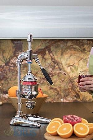 Compra OPTIMUM XL profesional Juice Extractor Exprimidor de palanca para naranja Granada cromo ... en Amazon.es