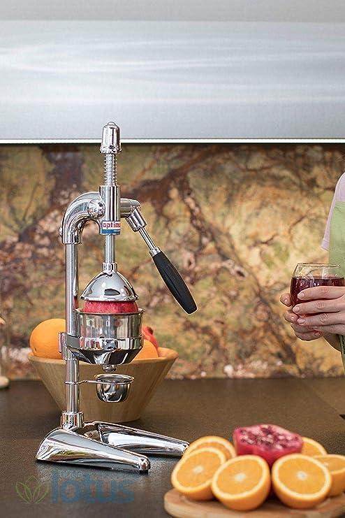 OPTIMUM XL profesional Juice Extractor Exprimidor de palanca para naranja Granada cromo …