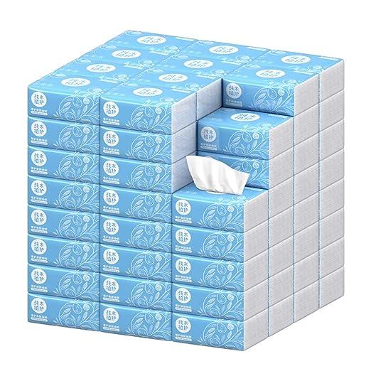Papel higiénico 40 Paquetes de Papel higiénico a Granel 3 Capas ...