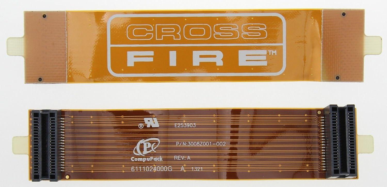 "Cross Fire AMD ATI Bridge Connector Flex Flexible Cable 100mm 10cm 4/"" Inch C110"