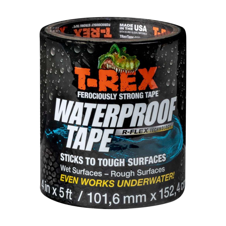 T-Rex 285987 Ferociously Strong Waterproof Tape, Black