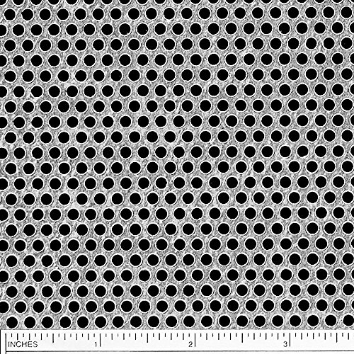 (Online Metal Supply Galvanized Steel Perforated Sheet, Thickness: 0.028 (24 Gauge), Width: 12