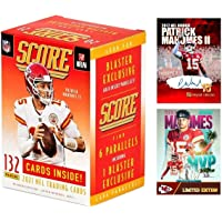 $69 » NEW 2021 Panini SCORE Football Cards FACTORY SEALED Blaster Box with 132 Cards…