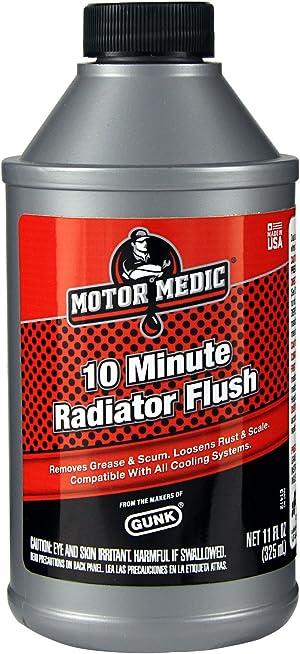 Gunk Motor Medic C1412 10-Minute Radiator Flush - 11 oz.