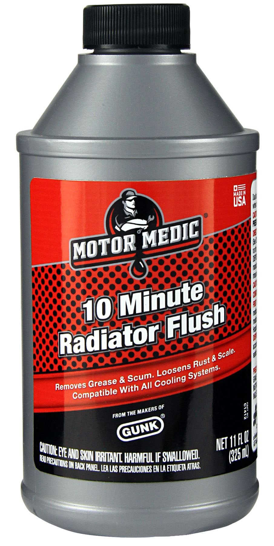 Niteo Motor Medic C1412-12PK 10-Minute Radiator Flush - 11 oz, (Case of 12) by Niteo