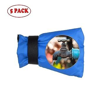 JHKJ Cubierta de Grifo para Exteriores, Calcetines de Cubierta de Grifo para protección contra congelamiento