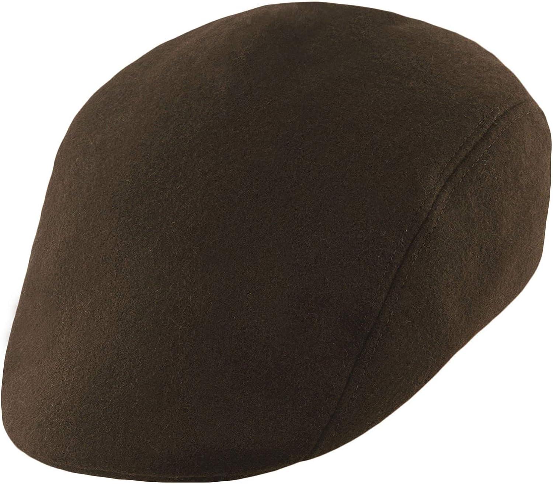 Wooly Baker Boy Hat with Earflap Warm 100/% Wool Ivy League Mens Flat Cap Sterkowski Norte