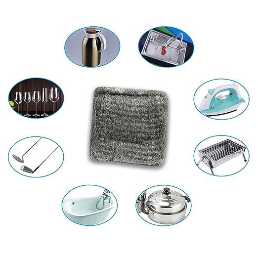 hawatour estropajo Biodegradable Ultrafine Cable de limpieza ...