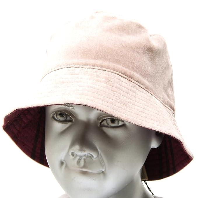 Burberry 4346F cappello pescatore CHECK velvet double face bimba hat kids   Amazon.it  Abbigliamento 58793de14c39