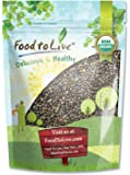 Organic French Green Lentils, 3 Pounds - Whole Dry Beans, Non-GMO, Kosher, Raw, Sproutable, Bulk