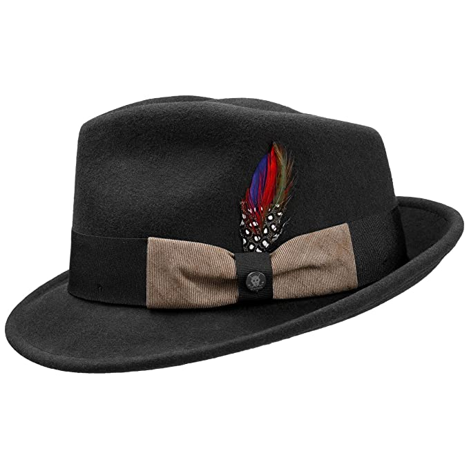 d0b7b4d5bb6 Stetson Virgi Wool Felt Trilby Hat Men