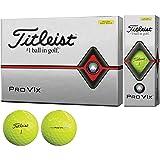 タイトリスト(TITLEIST) ゴルフボール 2019 Pro V1X ローナンバー イエロー ユニセックス T2146S-J イエロー