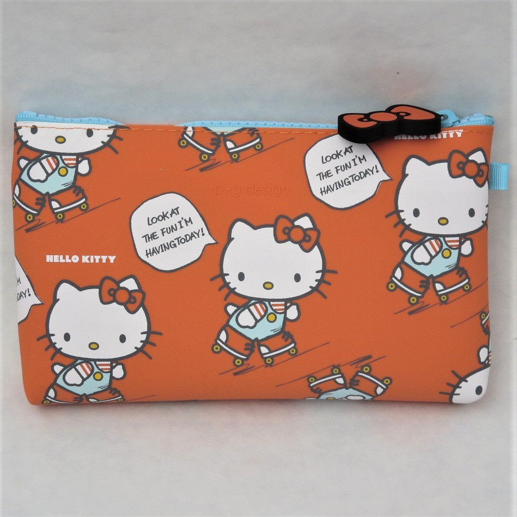 Red Fore-Sight GMC Toysfield PG-27101 GMC Toys Field Nu Hello Kitty Pouch Roller Skate