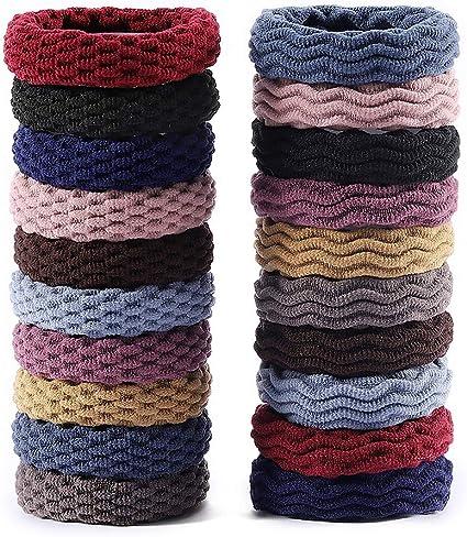 Bandas para el cabello de algodón sin costuras, elástico, lazos ...