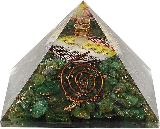 Lapis Lazuli Stone Pyramid Reiki Spiritual Gemstone Gift Feng Shui Table Dec