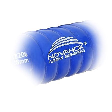 Innendurchmesser:/Ø 35 mm Superflex 1 Meter /Ø 13-38 mm Silikonschlauch Drahteinlage Flexibilit/ät Schlauch Farbe:Blau