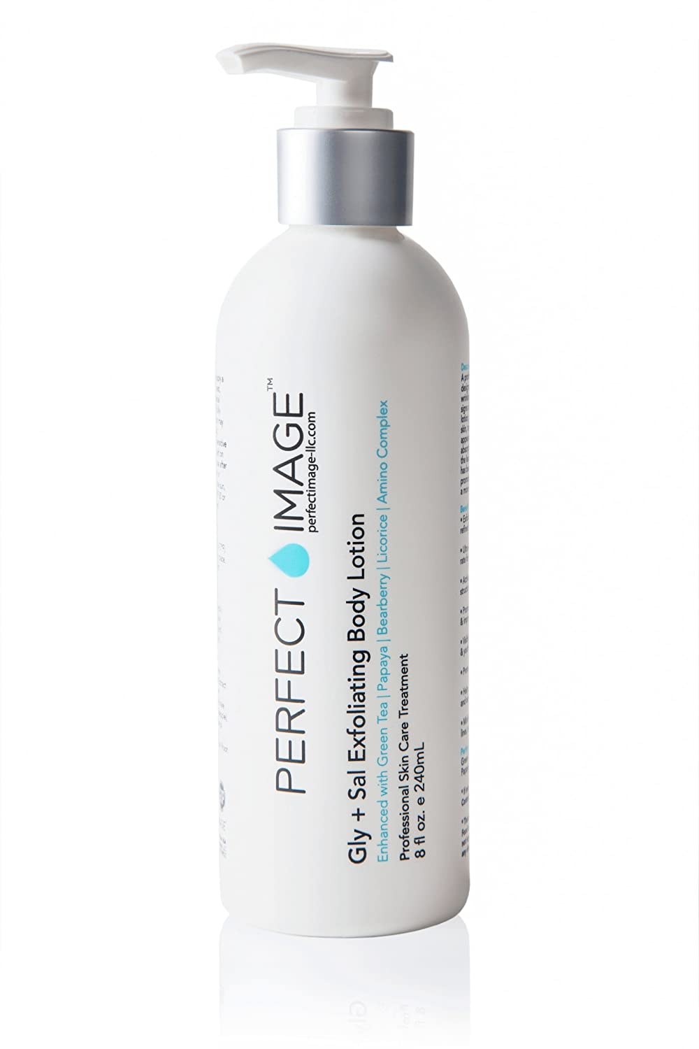 Gly 10% + Sal 2% Exfoliating Body Lotion - Enhanced with Green Tea   Papaya   Bearberry   Licorice   Amino Complex