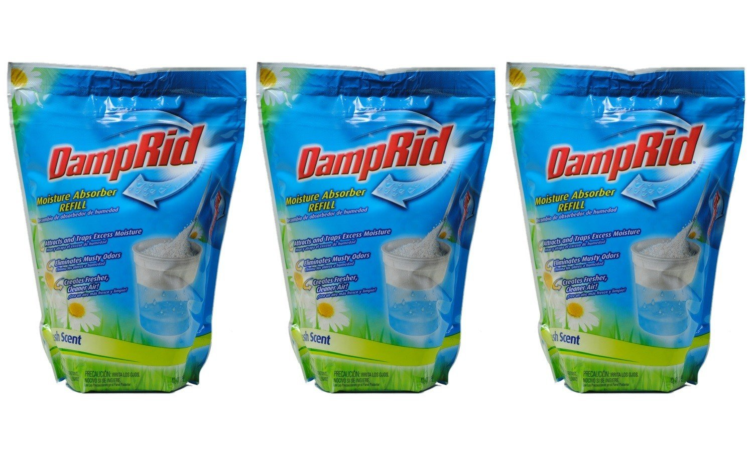 Amazon.com: DampRid Moisture Absorber 42oz Refill Bag Fresh Scent ...