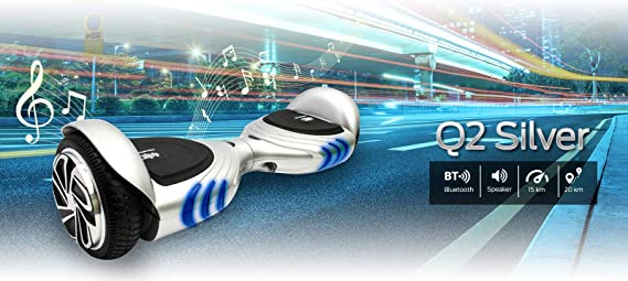 Intense Devices Pack Hoverboard Patinete electrico Q2 con Asiento ...