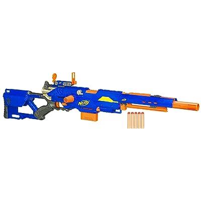 Nerf N-Strike Longstrike CS-6 Dart Blaster(Discontinued by manufacturer): Toys & Games