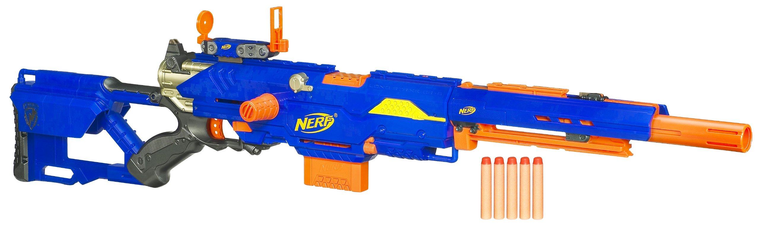Nerf N-Strike Longstrike CS-6 Dart Blaster(Discontinued by manufacturer)